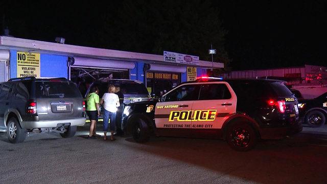 SAPD: Driver crashes vehicle into corner store; no one hurt