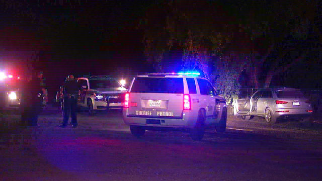 BCSO: Man arrested after crashing stolen car into fence during chase