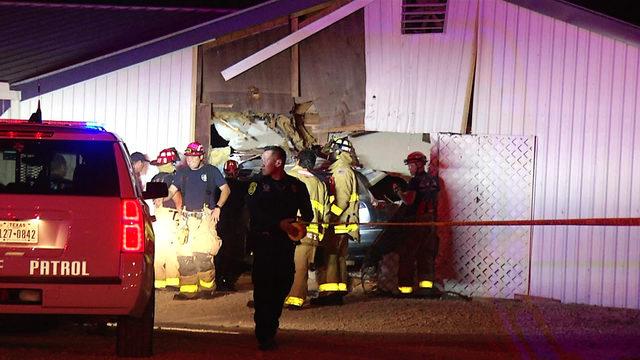 Driver crashes vehicle into NE Side church; no one hurt, deputies say