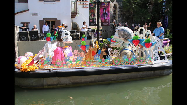 IMAGES: First barges revealed for Day of the Dead Parade in SA