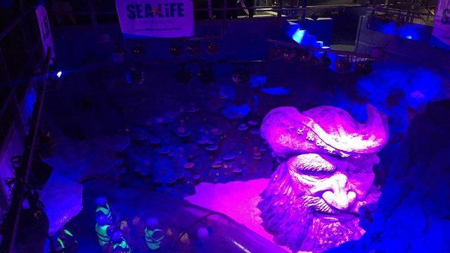 San Antonio's Sea Life Aquarium fills up tanks ahead of opening