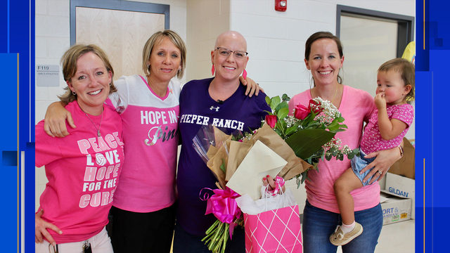 Pregnant Comal ISD teacher diagnosed with breast cancer honored with…