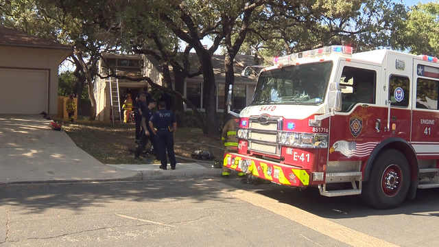 San Antonio family displaced after house fire on Northwest Side