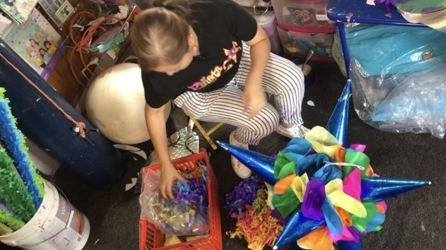 Local piñata maker shares her heritage through her craft
