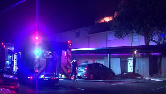 Multiple apartments destroyed in two-alarm fire