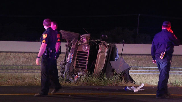Man killed after being ejected in rollover crash on Loop 1604 identified