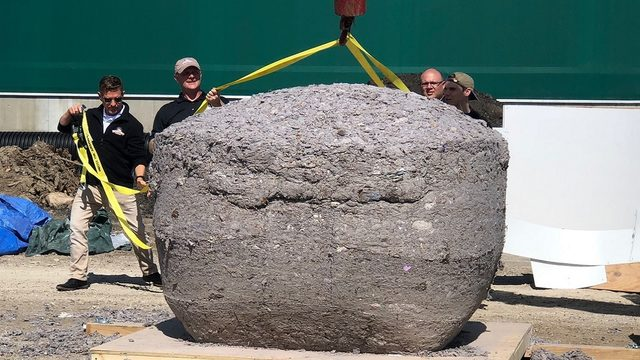 Local company helps set record for world's largest ball of lint