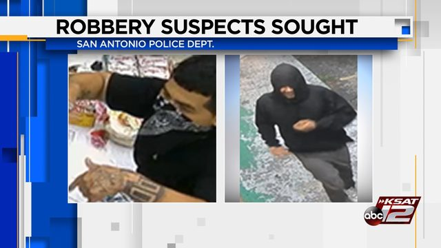 San Antonio police seek pair of robbers who targeted near North Side…