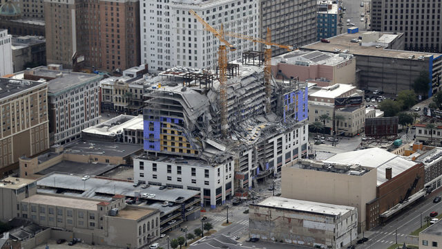 WATCH LIVE: New Orleans Hard Rock Hotel collapse press conference