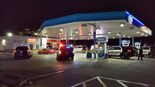 SAPD: Man in custody after shooting at gas station