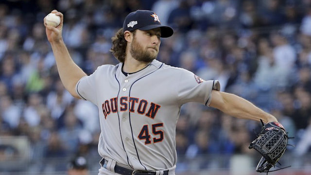 Hot Cole, Houston Astros face Scherzer, Nats in World Series opener