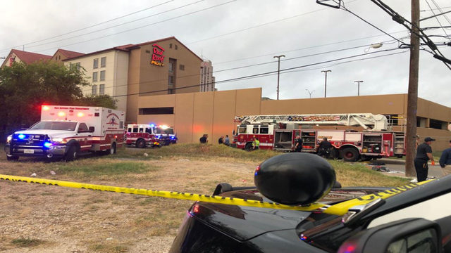 SAPD: Firefighter suffers life-threatening injuries after being hit by van