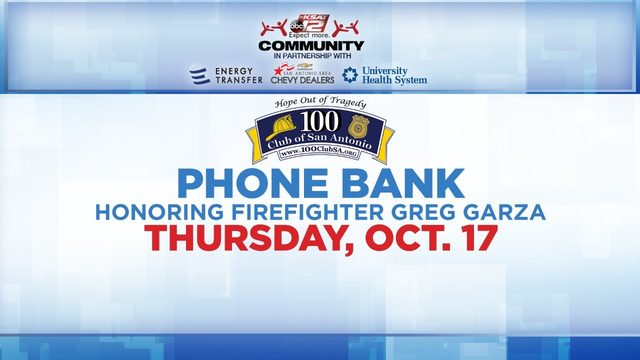 KSAT Community hosts phone bank honoring firefighter, Greg Garza