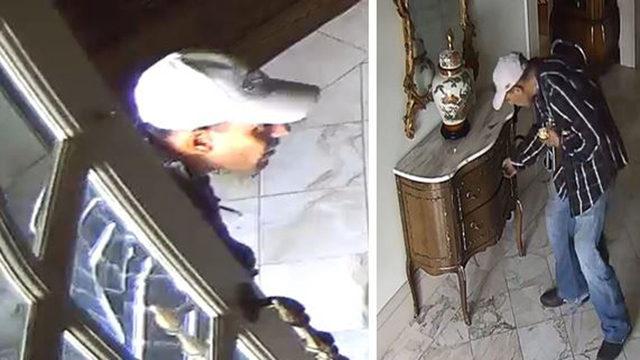 Police seek burglary suspect caught on surveillance camera