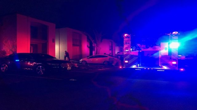 1 displaced, others evacuated due to early-morning apartment fire