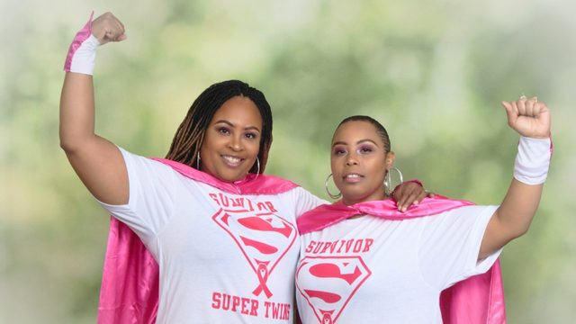 Sisters diagnosed with breast cancer weeks apart