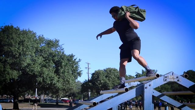 Do you have what it takes to workout with the SAPD SWAT team?
