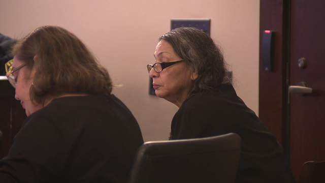 Convicted killer's mom on trial, accused of helping son escape jail