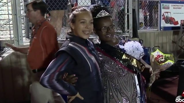 Teen with lifetime of health obstacles crowned homecoming queen