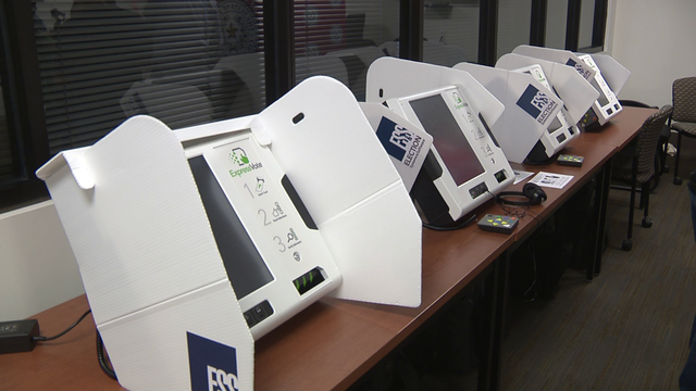 New voting machines allow Bexar County voters to cast ballot at any polling site