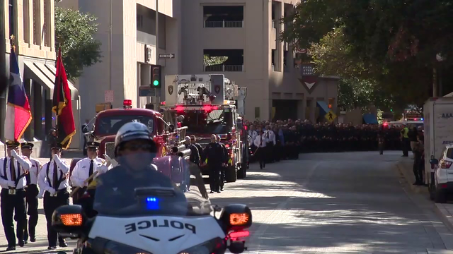 SAFD pays tribute to fallen firefighter Greg Garza with Honor Walk