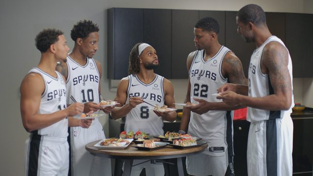 H-E-B, Spurs give preview of slapstick commercials with current, former players