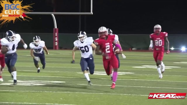 Week 8 KSAT Elite 12 BGC Supercut Part 1: Plays from Judson, Madison, Harlandale