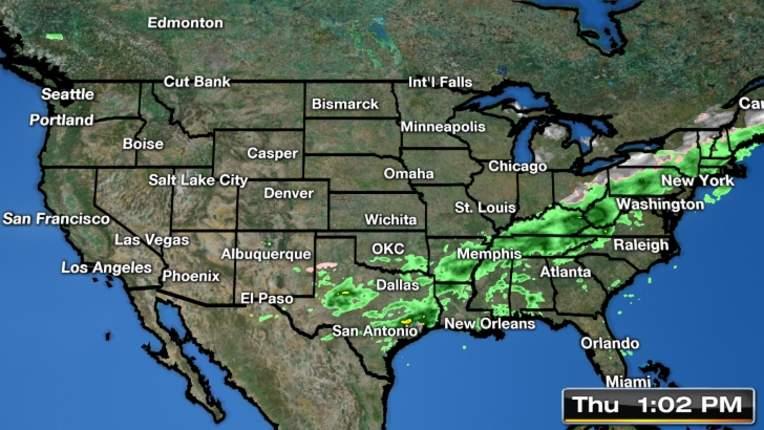 San Antonio 7 Day Weather Forecast - WeatherCentral.com